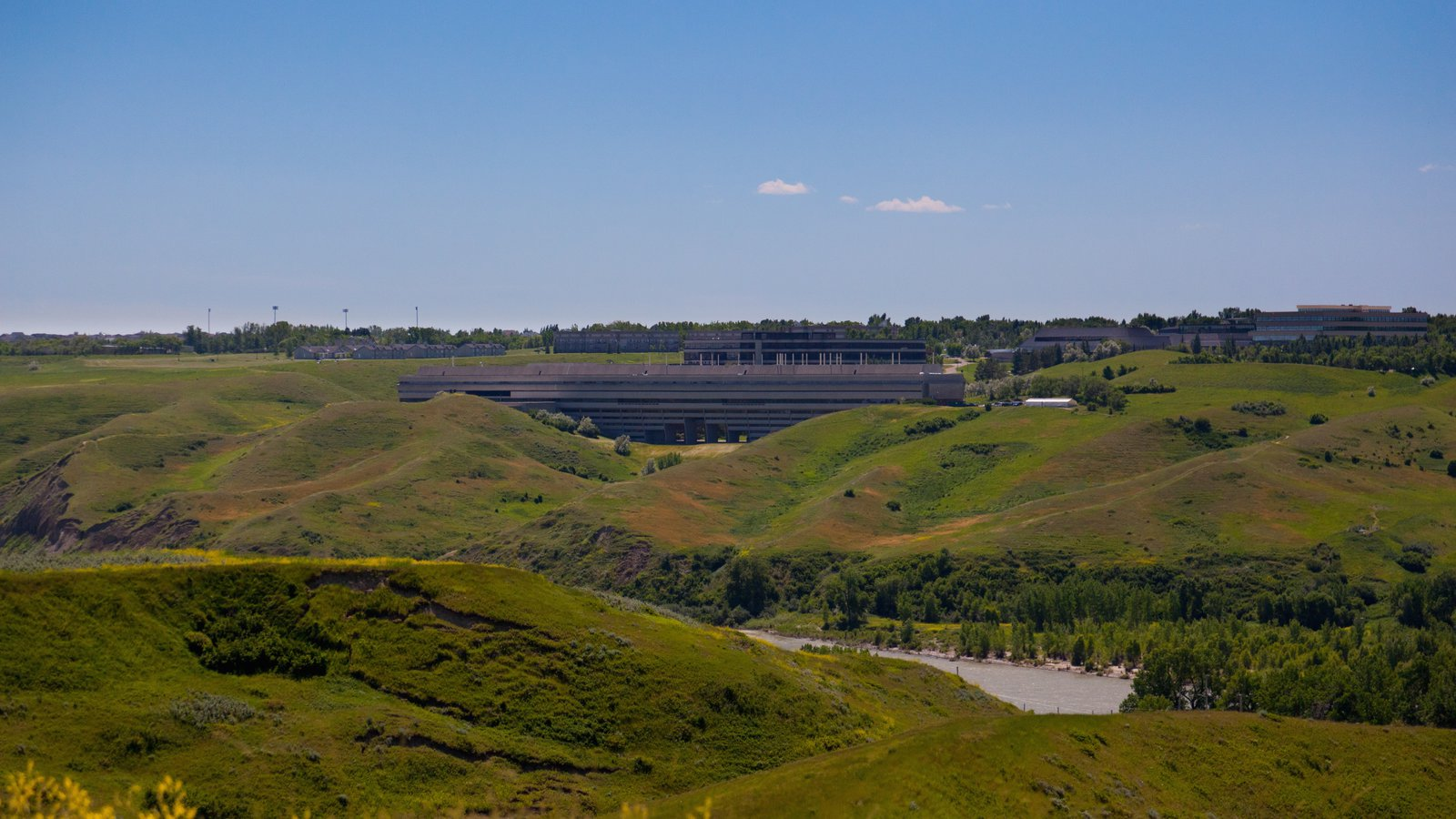 Lethbridge featuring landscape views and mountains