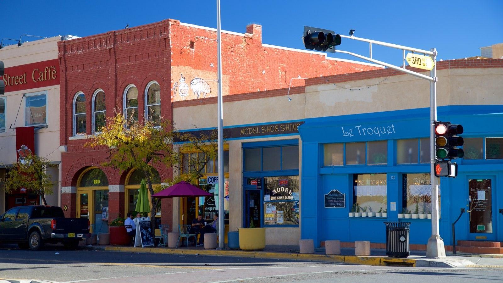 Albuquerque ofreciendo escenas urbanas