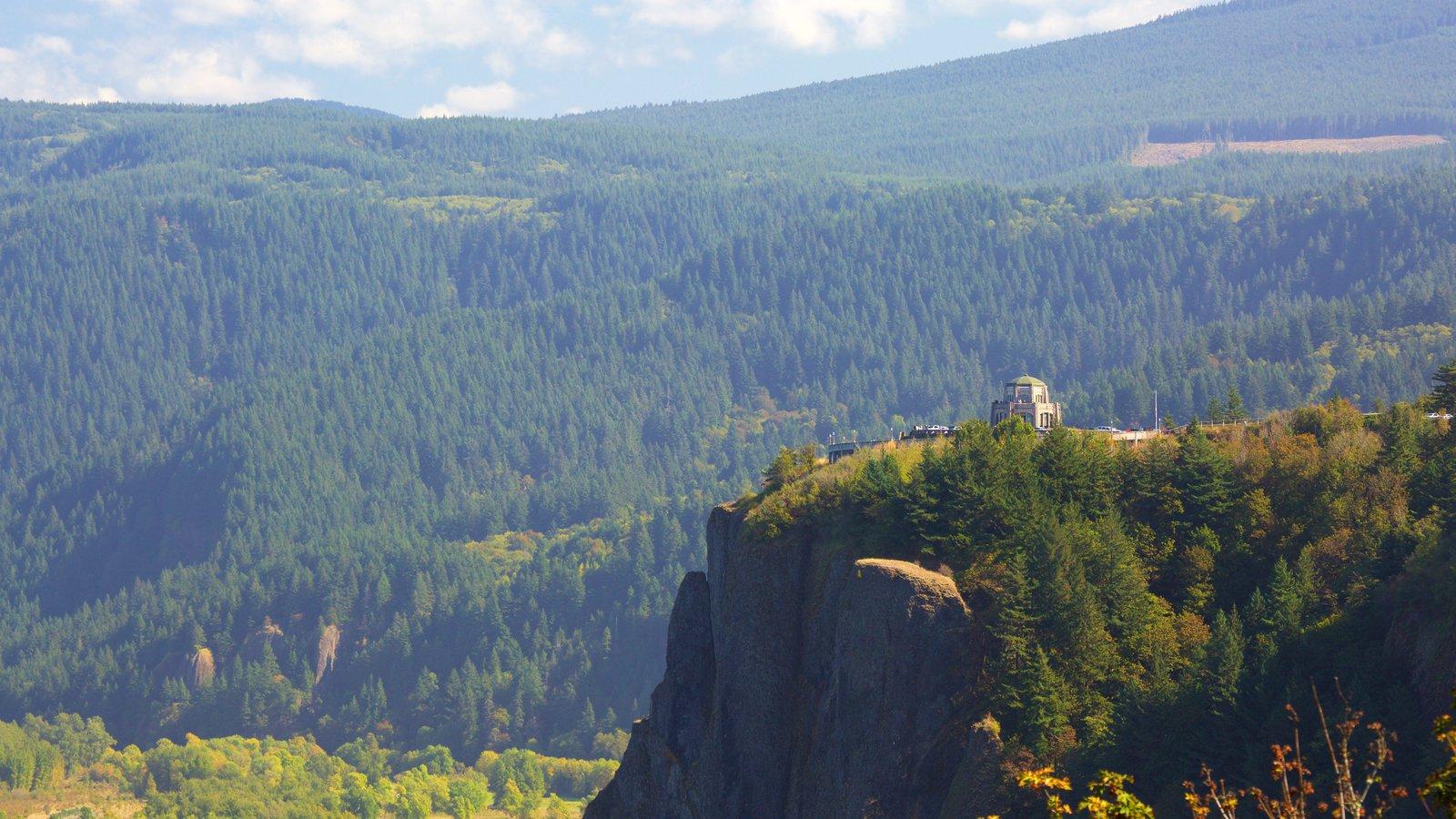 Portland mostrando vistas de paisajes y montañas