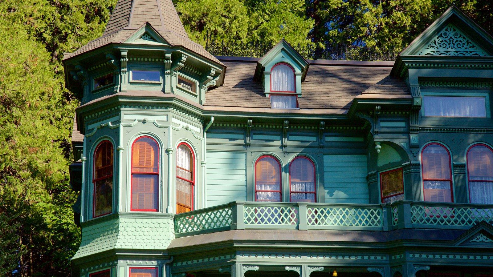Shelton-McMurphey-Johnson House caracterizando uma casa