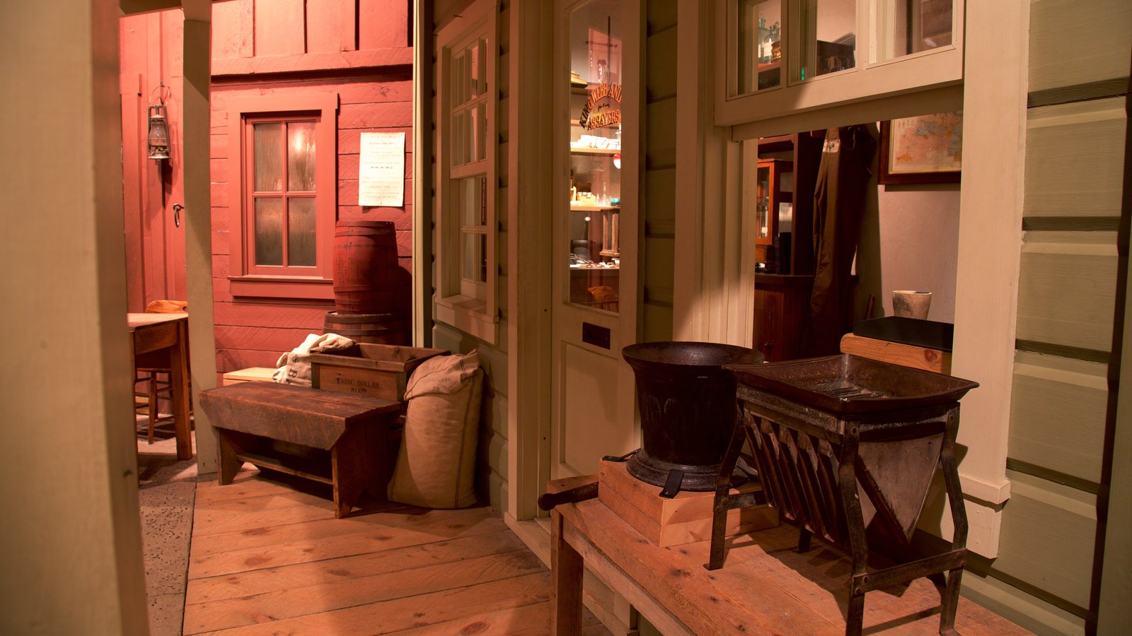 High Desert Museum Featuring A House And Interior Views