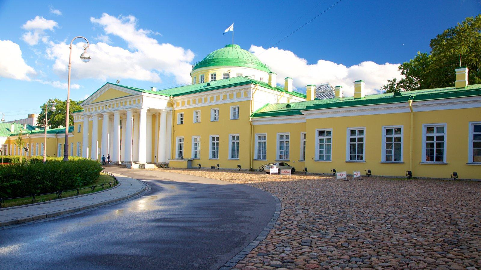 Palácio Tauride que inclui um pequeno castelo ou palácio