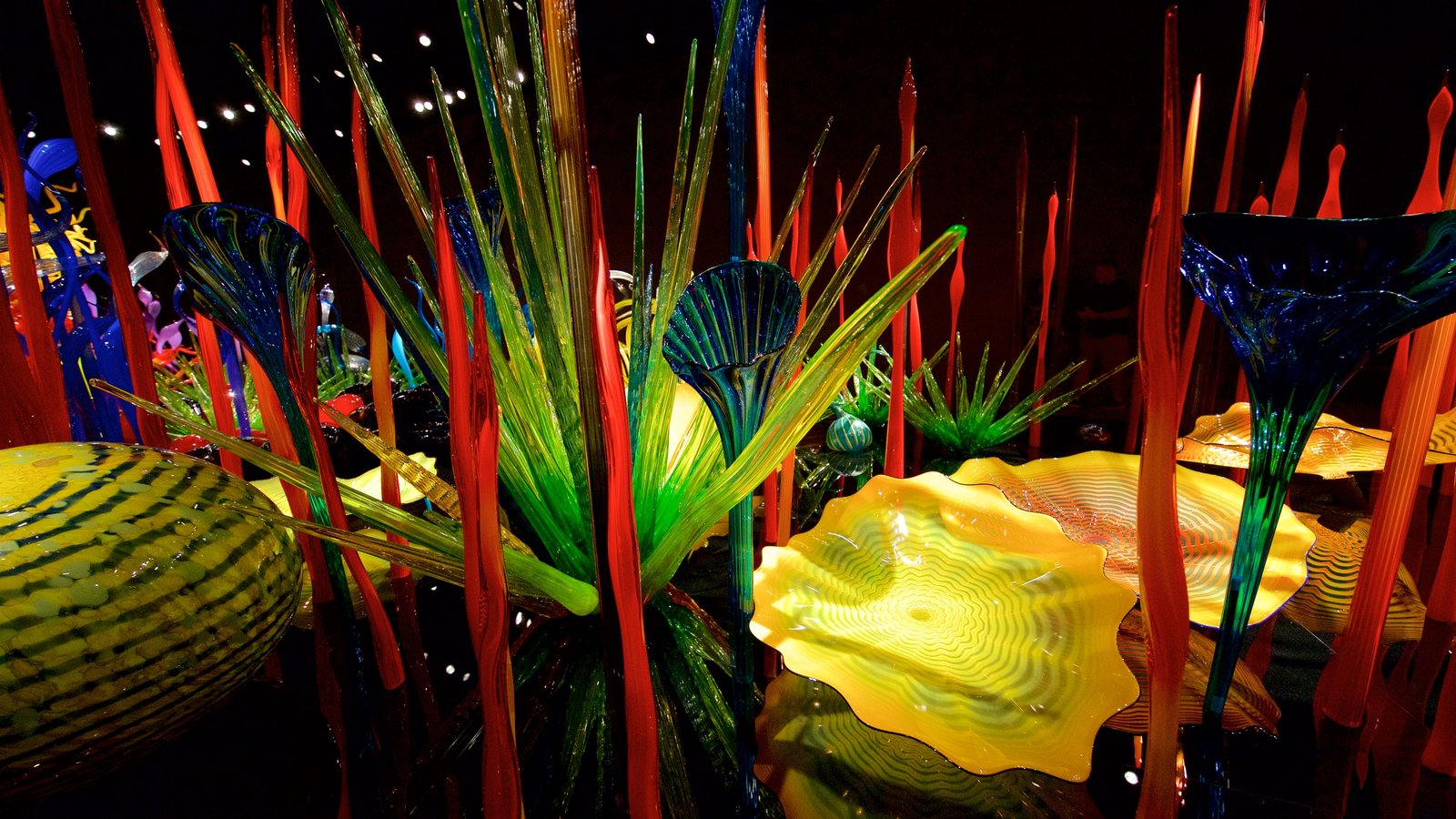 The Chihuly Gardens and Glass Museum is a feast for the eyes.