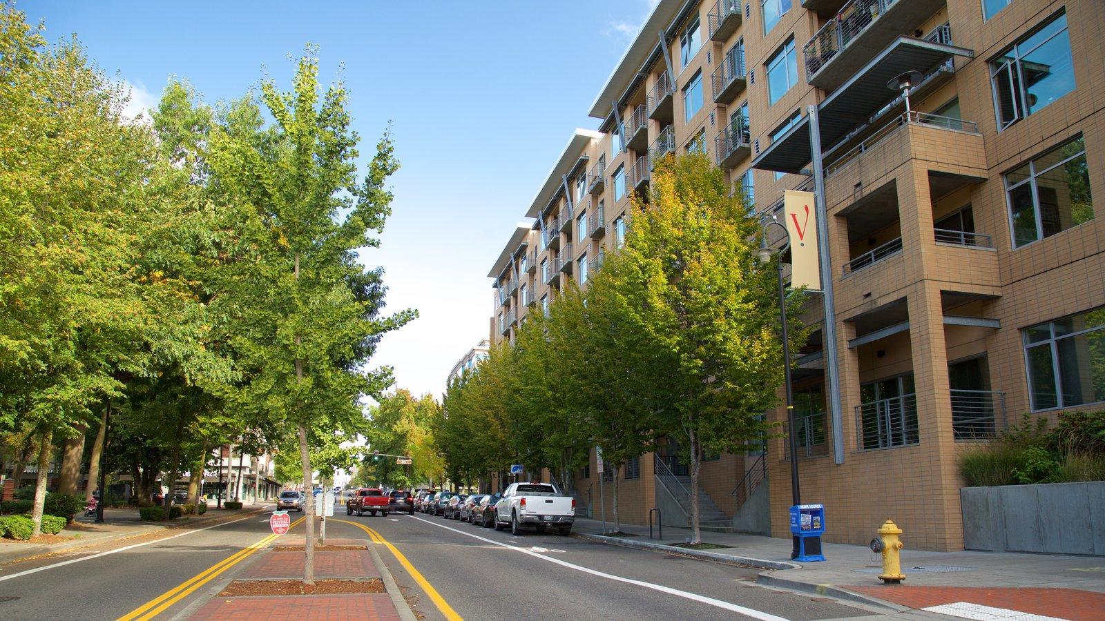 Vancouver que inclui cenas de rua