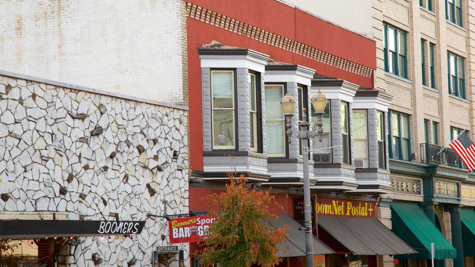 Vancouver que inclui arquitetura de patrimônio