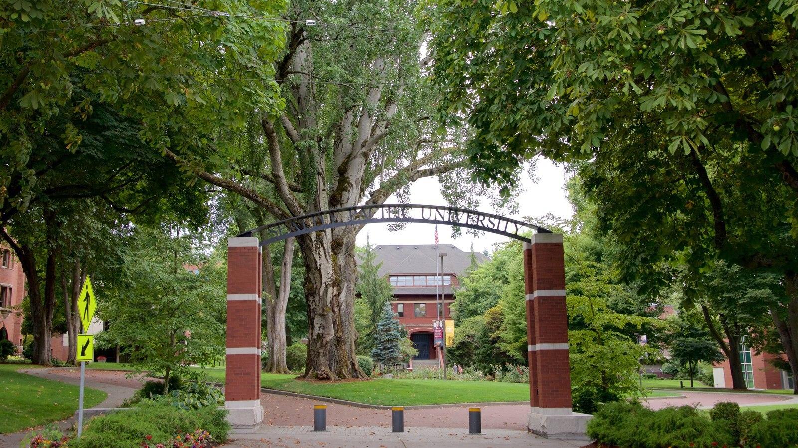 Queen Anne caracterizando um parque