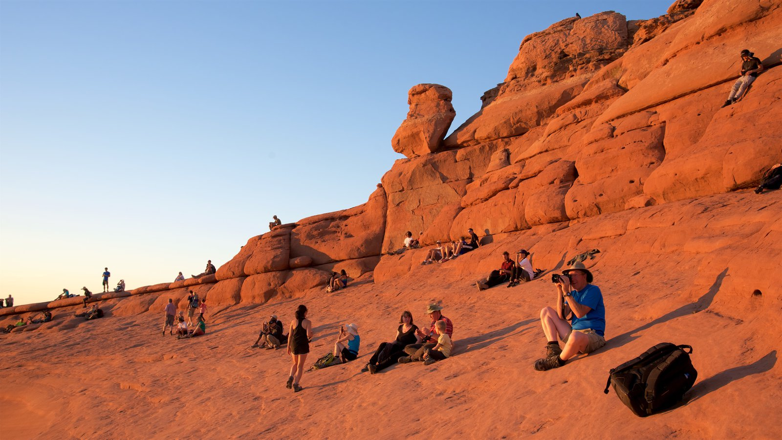 Arches National Park, Utah, USA - Iconic Delicate Arch At Sunset With  Moving Shadow And Blue Sky - Timelapse With Zoom Out - August 2013 Stock  Footage Video ...