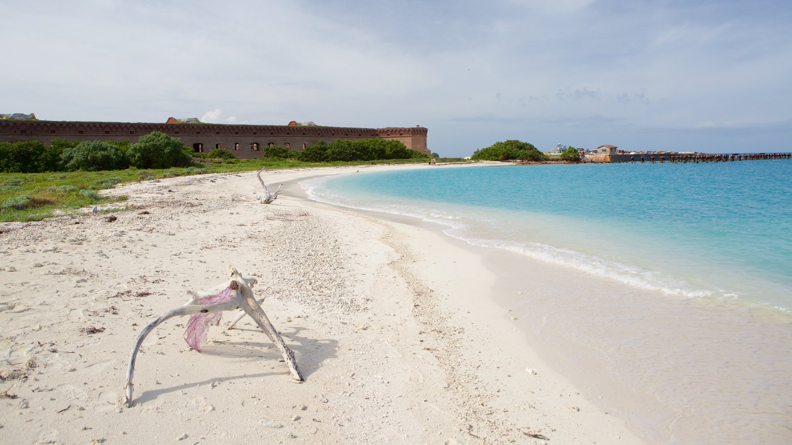 Dry Tortugas National Park Which Includes A Beach And General Coastal Views