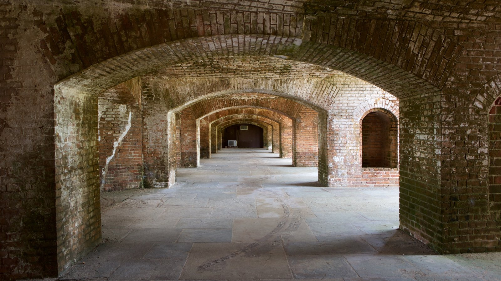 Dry Tortugas National Park which includes heritage architecture