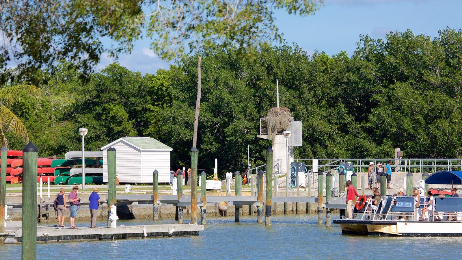 Everglades National Park caracterizando uma marina