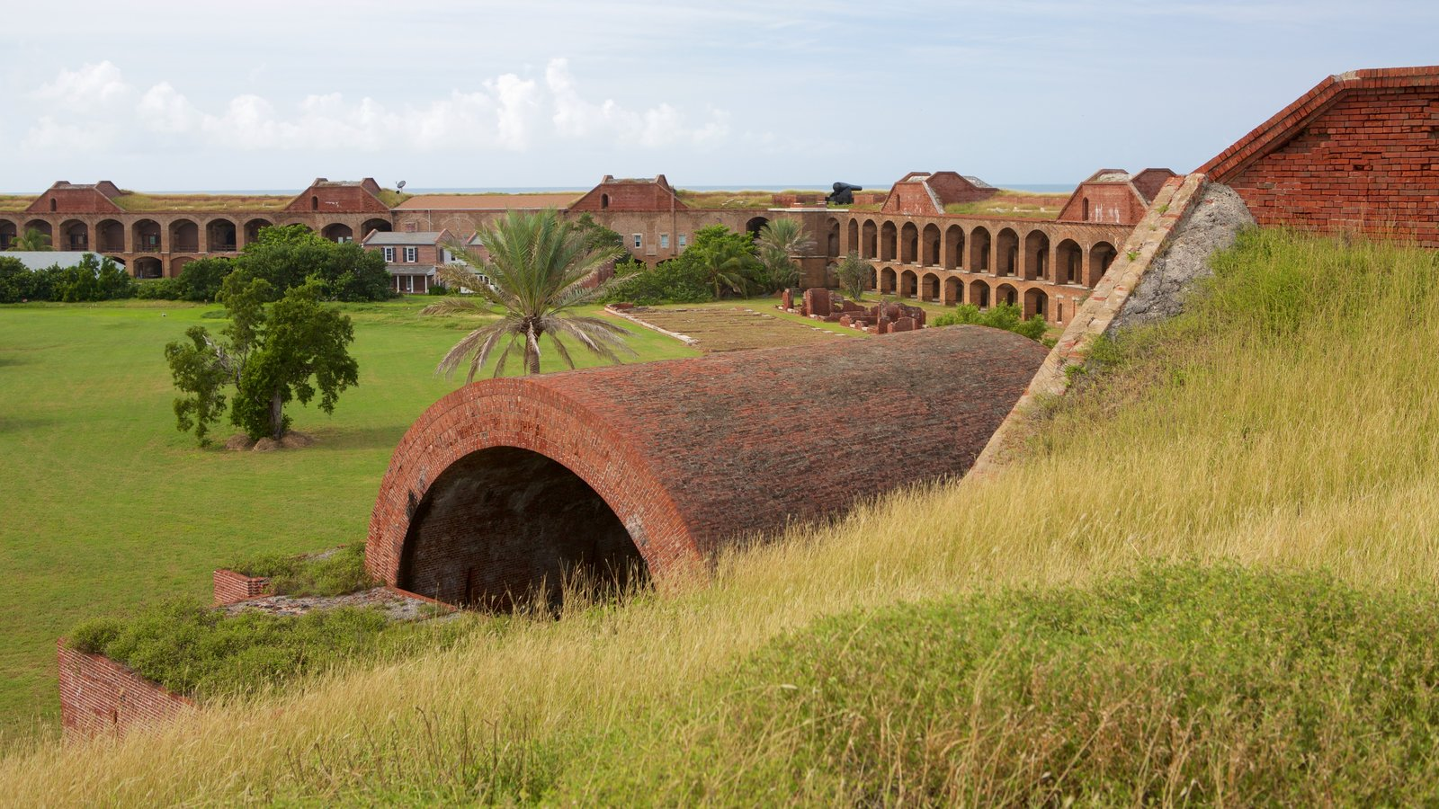 Dry Tortugas National Park which includes heritage architecture and a park