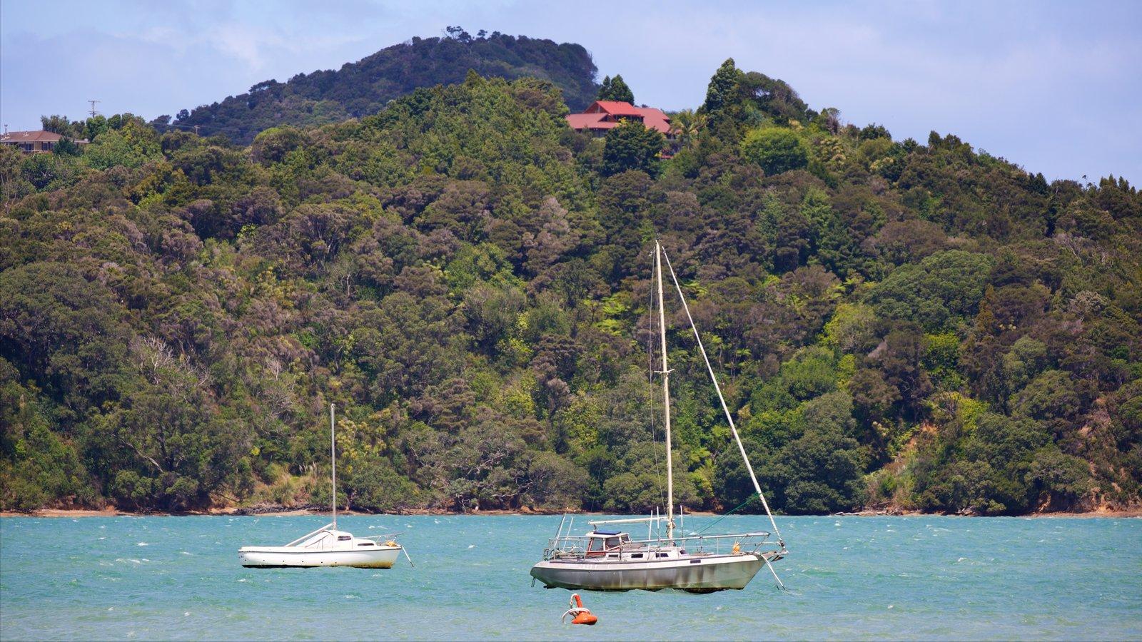 Whangarei ofreciendo una bahía o puerto y navegación