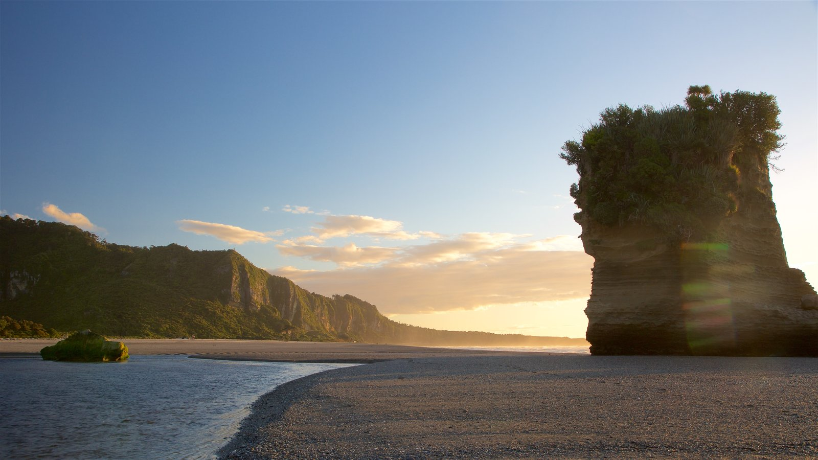 Sunset & Sunrise Pictures: View Images of Punakaiki