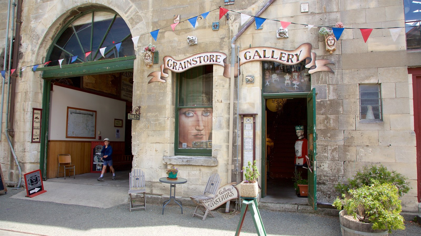 Grainstore Gallery showing heritage architecture