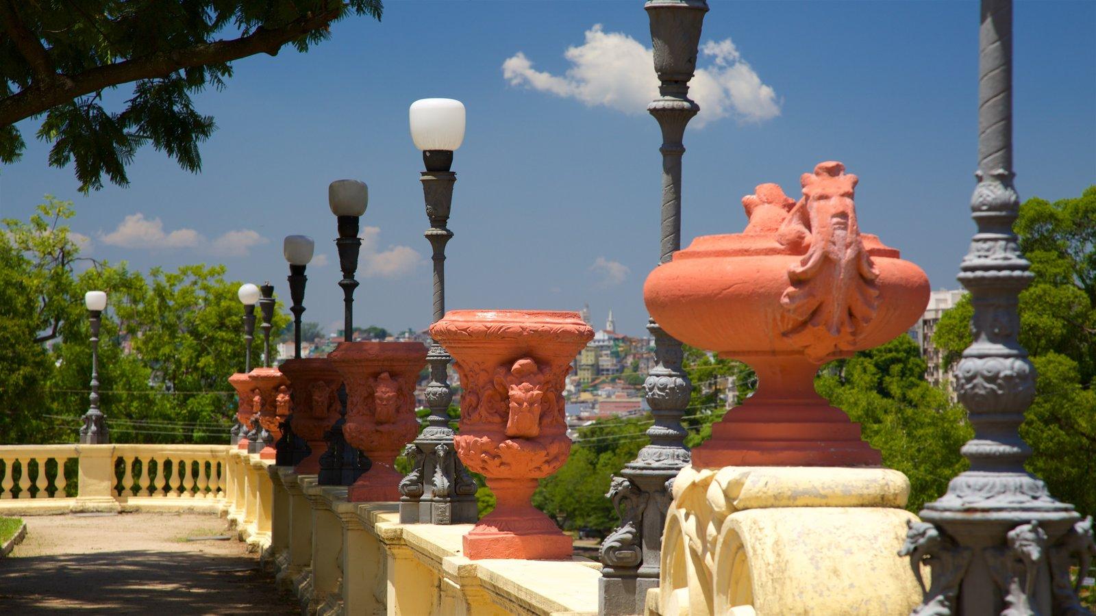 Quinta da Boa Vista que inclui elementos de patrimônio