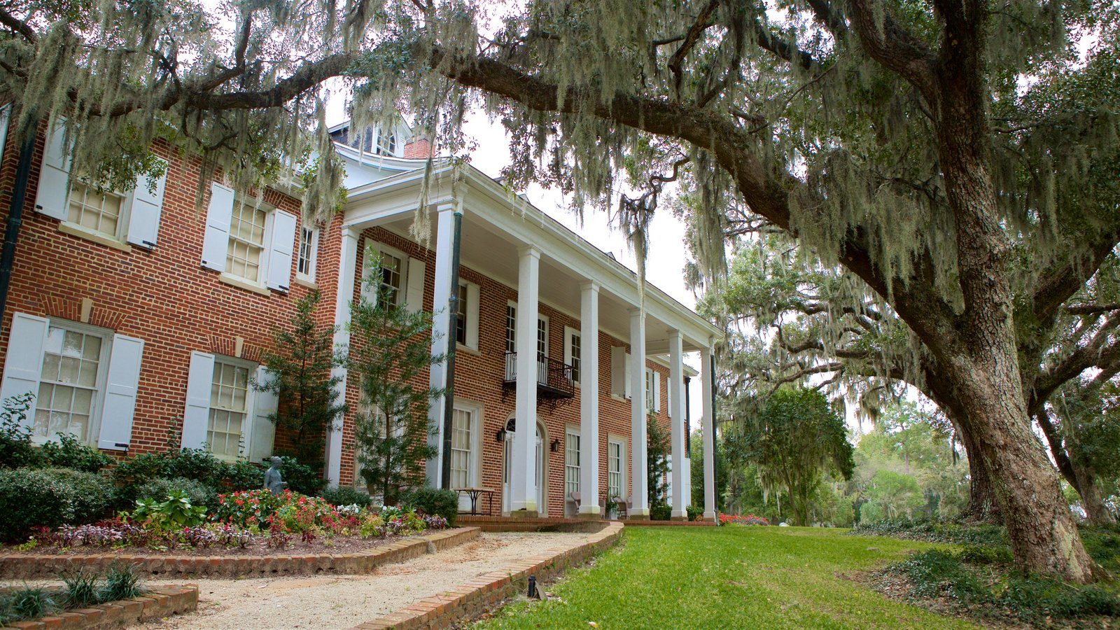 Georgetown caracterizando uma casa e elementos de patrimônio
