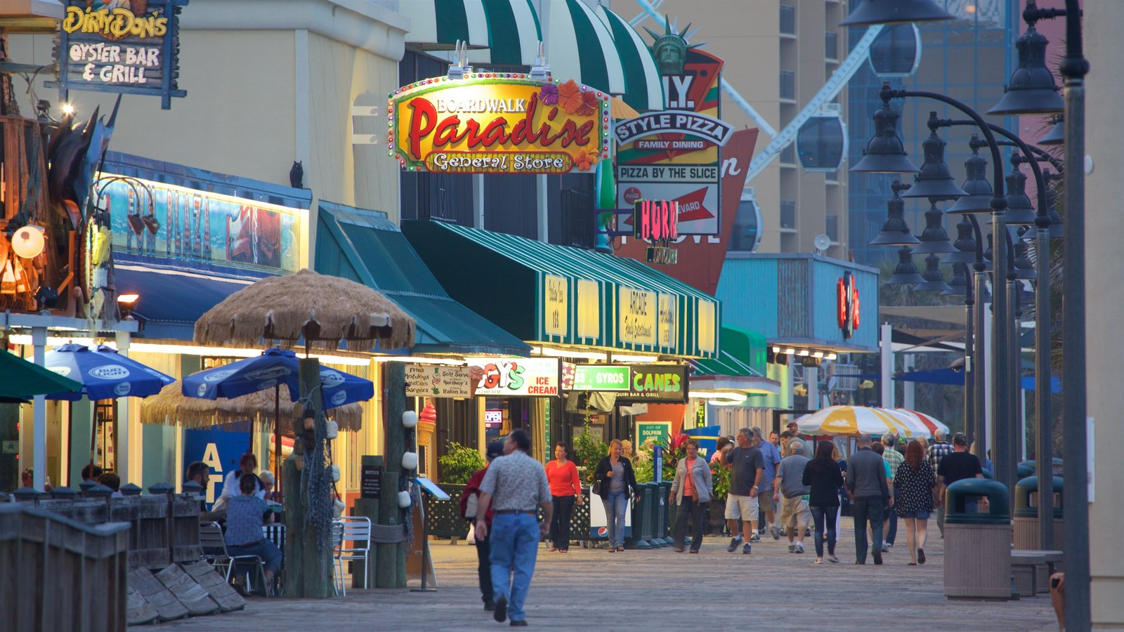 North Myrtle Beach Boardwalk Restaurants