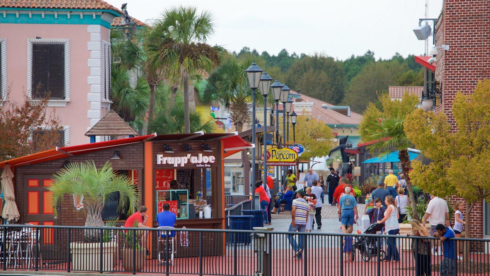 Broadway at the Beach que inclui passeios