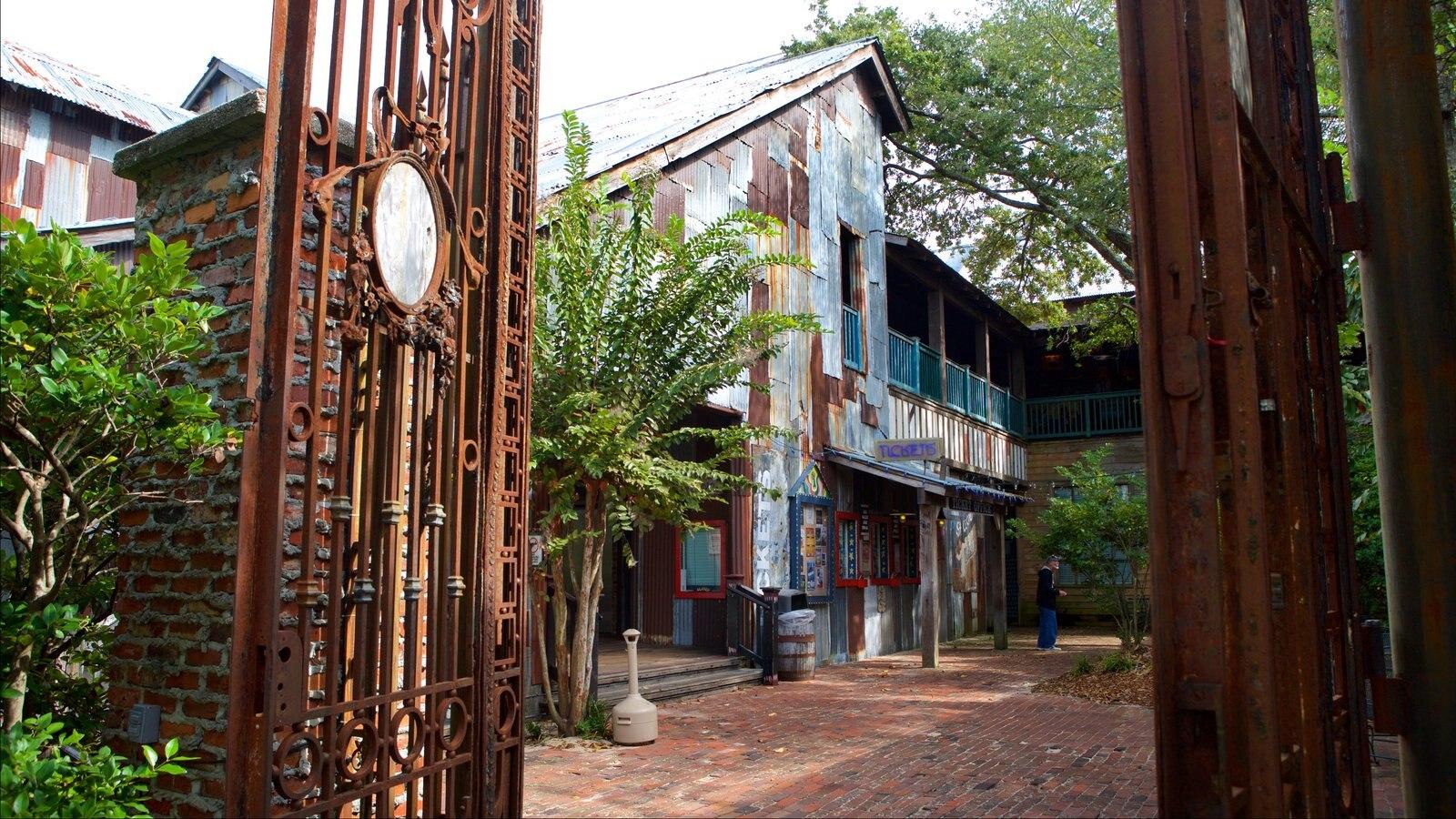 House of Blues Myrtle Beach que inclui elementos de patrimônio