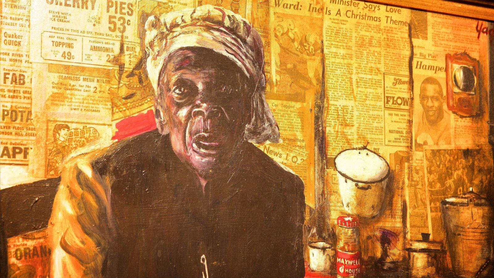 Museu de Arte de Myrtle Beach caracterizando arte
