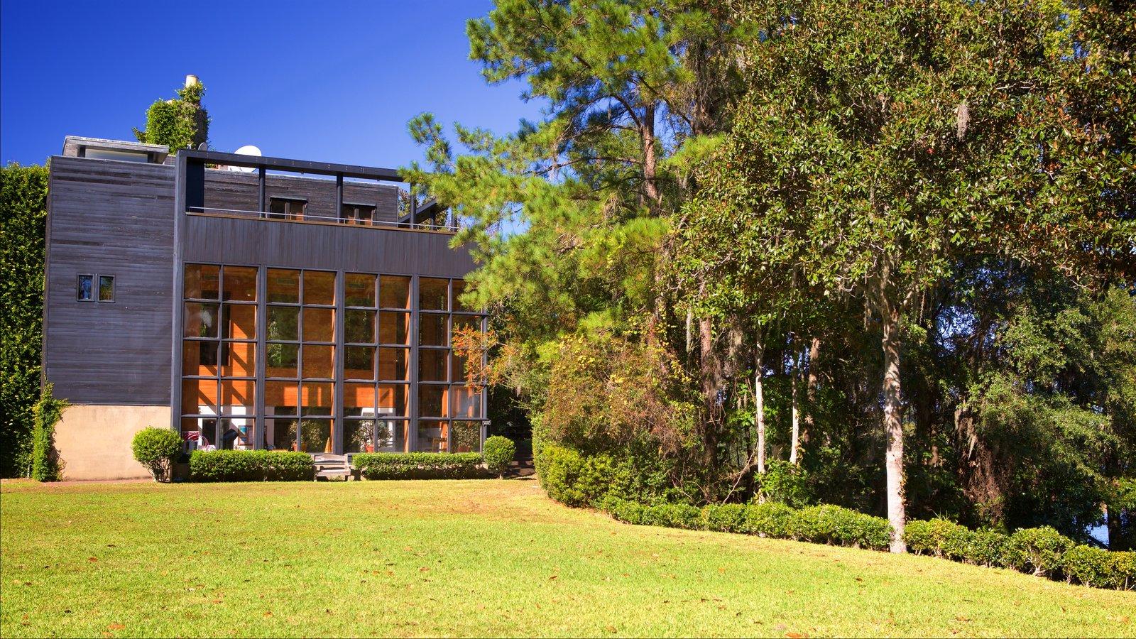 Middleton Place caracterizando uma casa e um parque