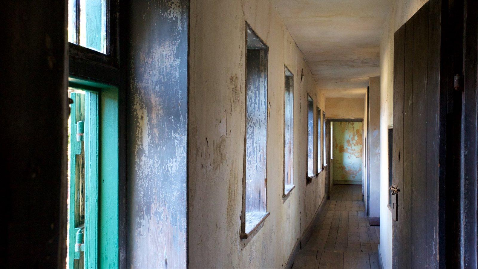 Aiken-Rhett House mostrando vistas internas e elementos de patrimônio