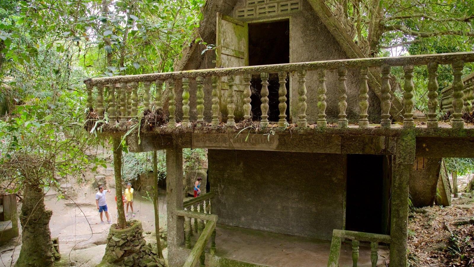secret buddha garden featuring a park and building ruins - Buddha Garden