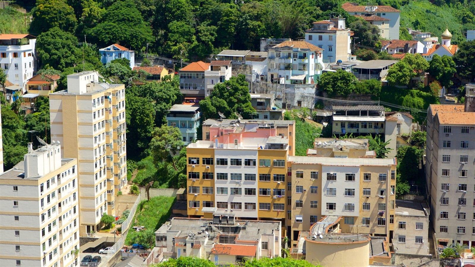 Santa Teresa caracterizando uma cidade