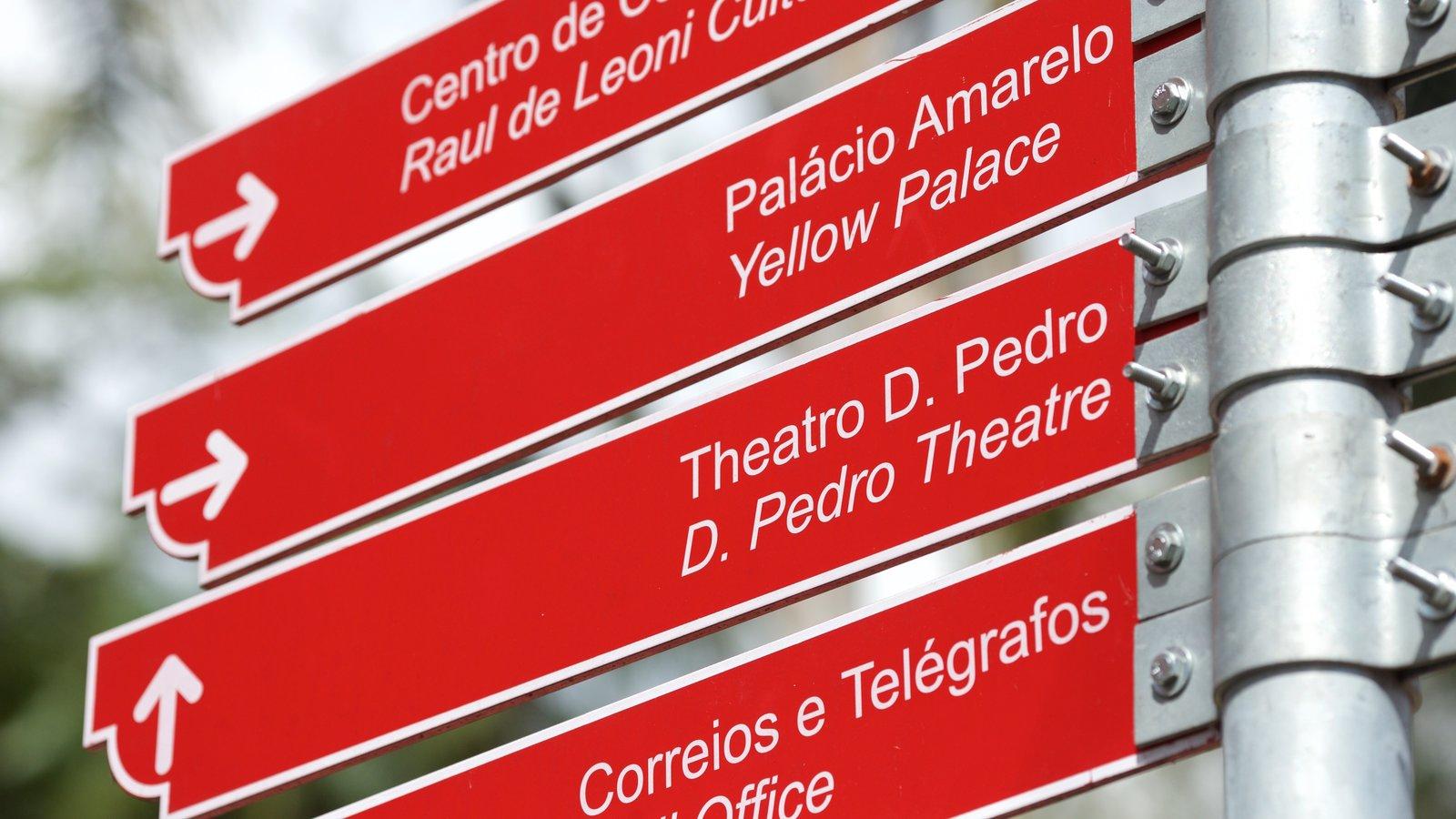 Petrópolis mostrando sinalização