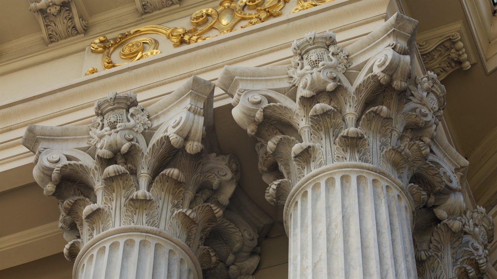 Teatro Municipal que inclui arquitetura de patrimônio