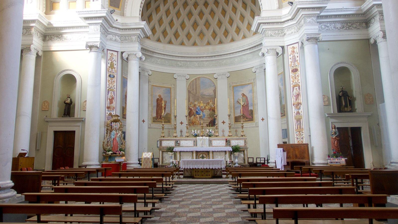 Castiglione del Lago which includes interior views and a church or cathedral
