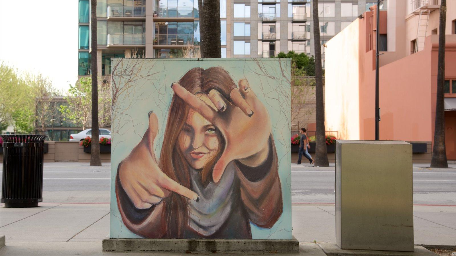 Bay Area caracterizando arte ao ar livre