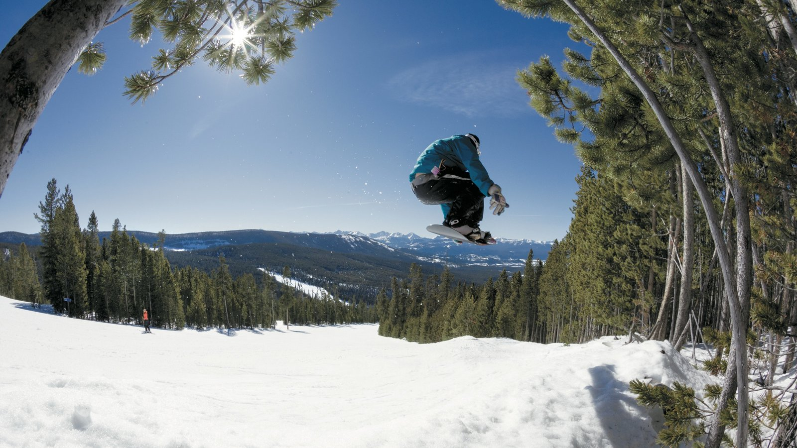 peaceful pictures: view images of discovery ski area