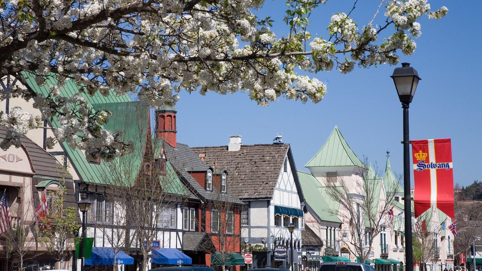Santa Ynez Valley que inclui cenas de rua