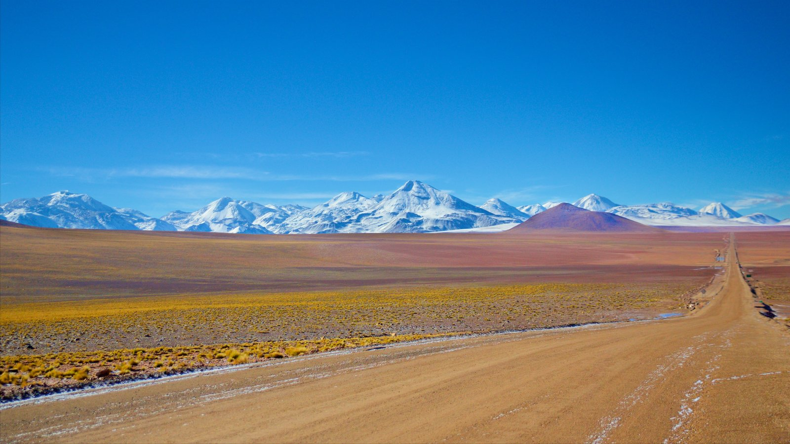 Chile mostrando cenas tranquilas, paisagem e neve