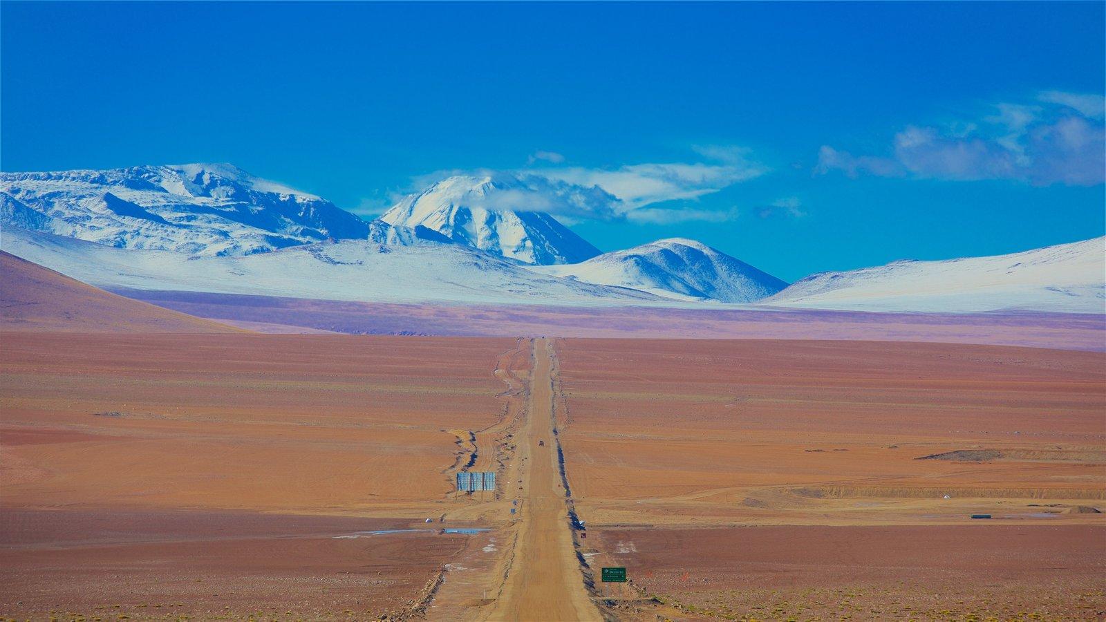 Antofagasta mostrando paisagem, cenas tranquilas e montanhas