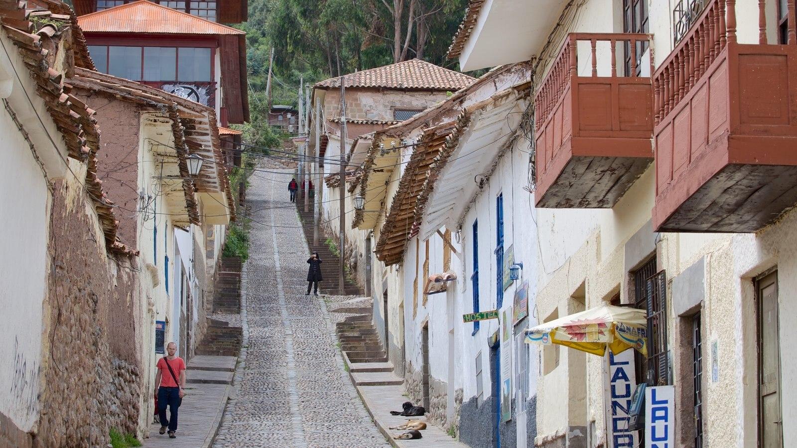 Cusco que inclui elementos de patrimônio