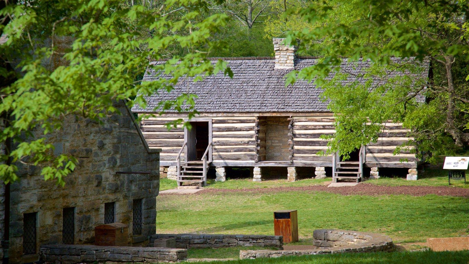 Belle Meade Plantation que incluye elementos del patrimonio