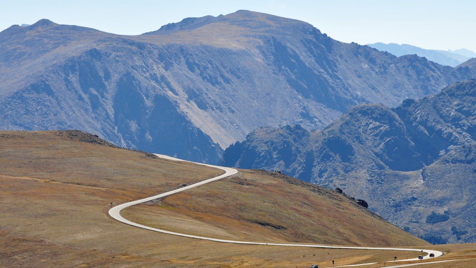 Rocky Mountain National Park caracterizando cenas tranquilas, montanhas e paisagem