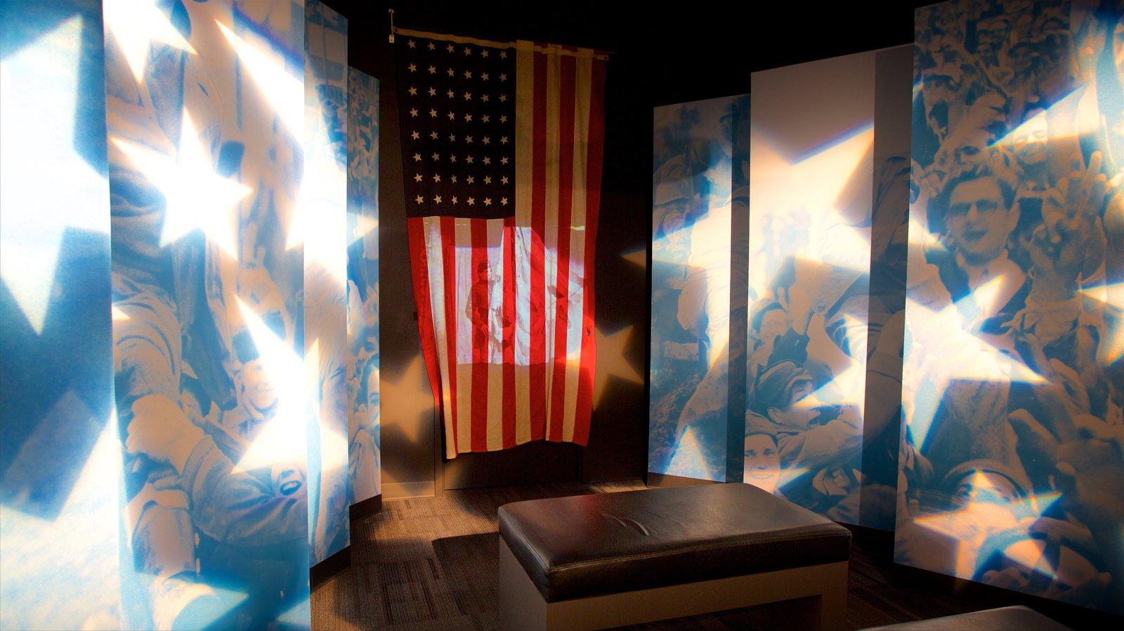 Museo Johnny Cash ofreciendo vistas interiores