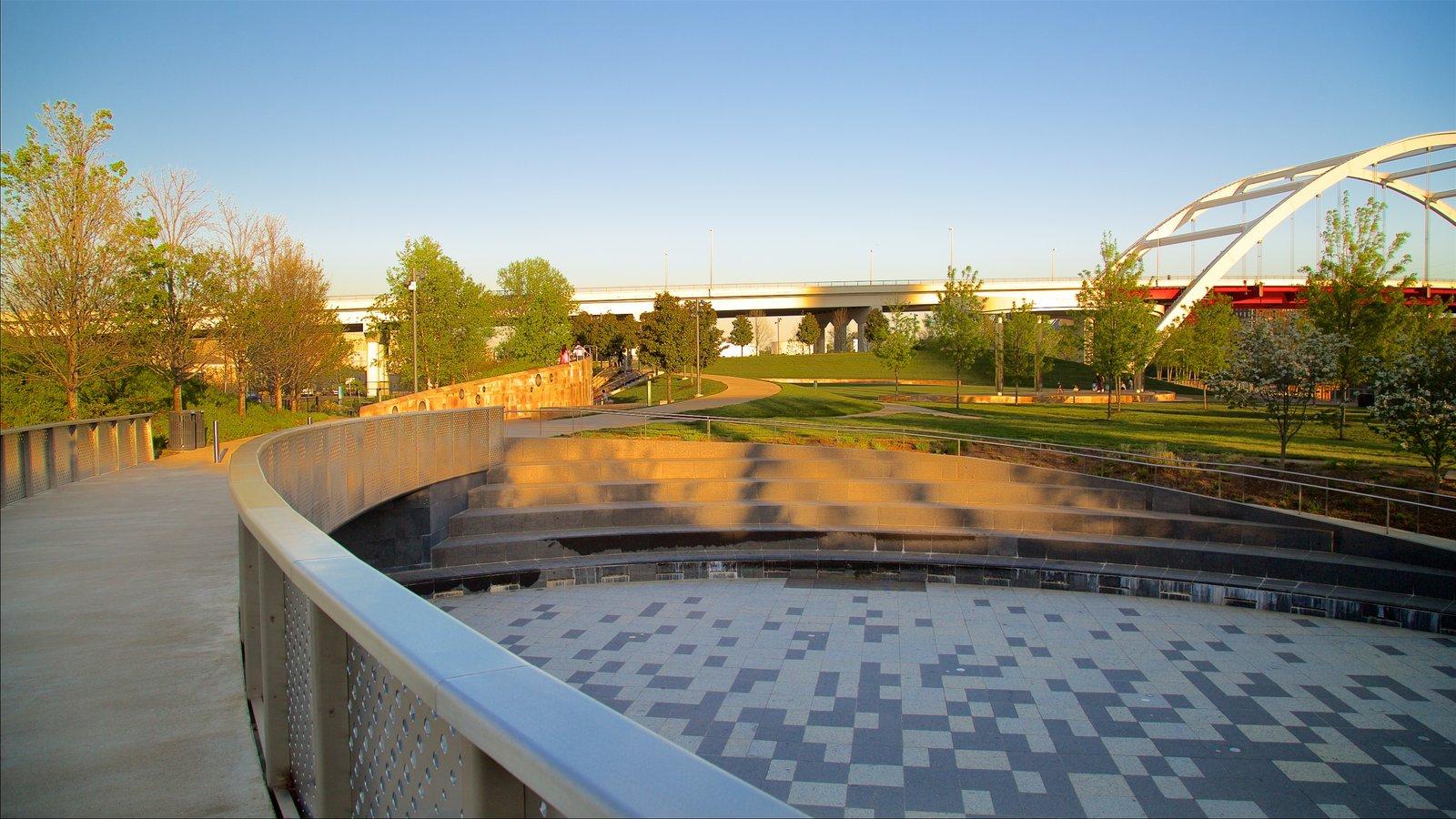 Cumberland Park mostrando un parque y un parque o plaza