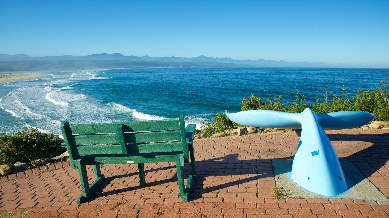 Plettenberg Bay que incluye vistas, arte al aire libre y olas
