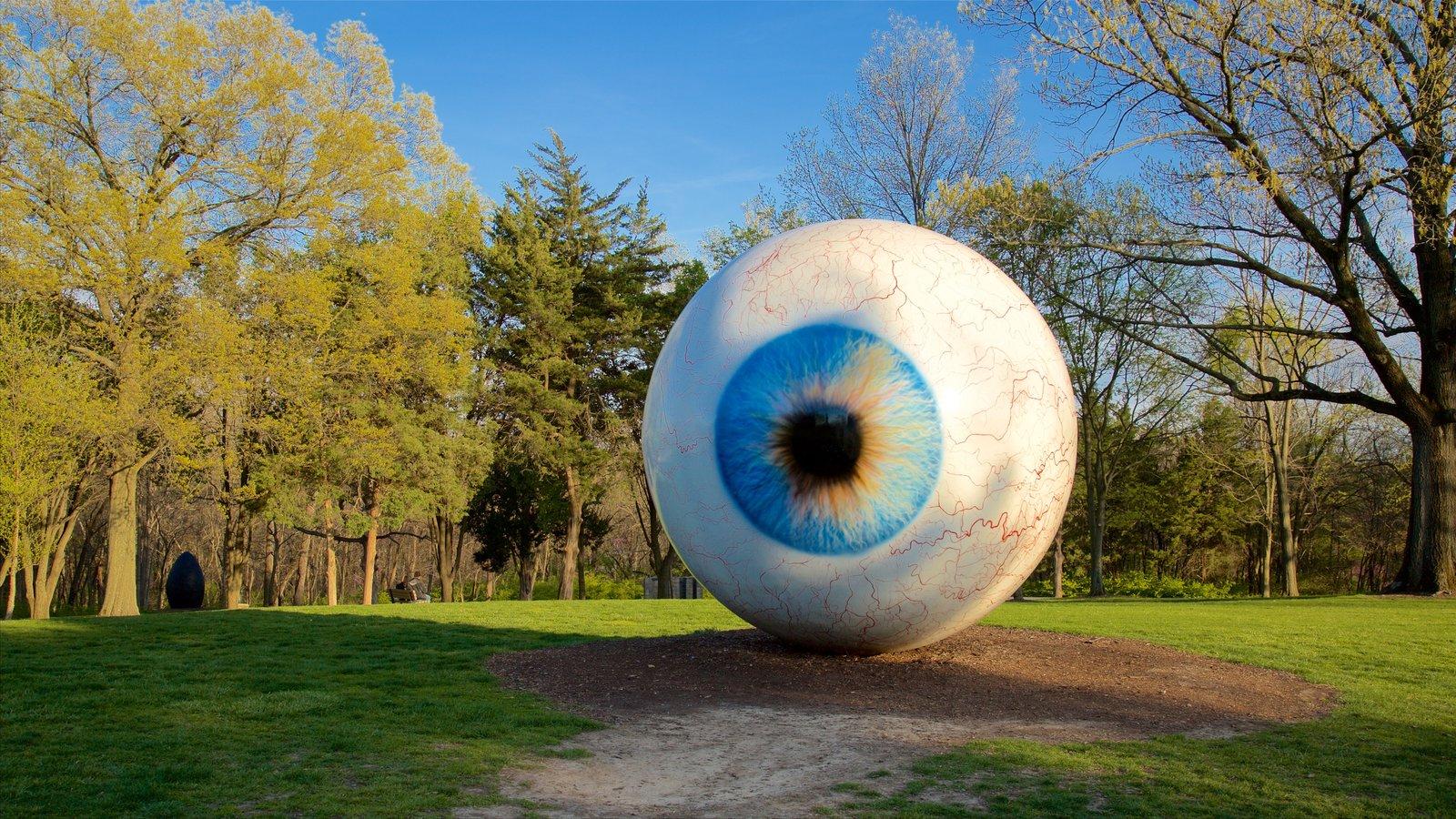 Laumeier Sculpture Park Which Includes A Park And Outdoor Art