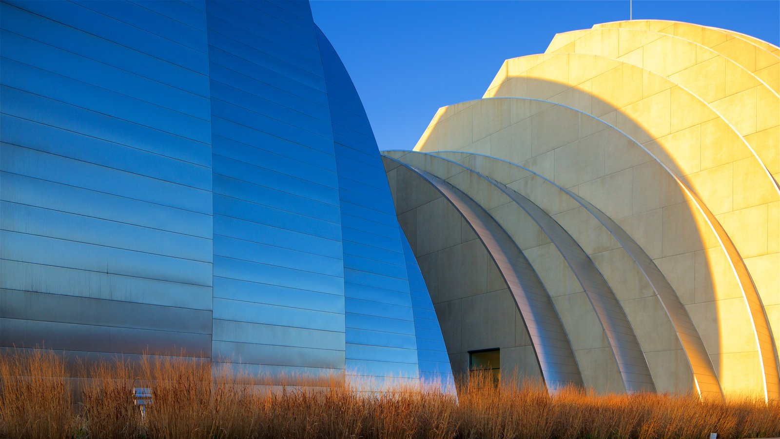 Kauffman Center for the Performing Arts showing modern architecture
