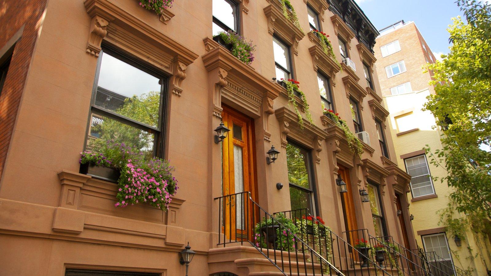 Brooklyn que inclui uma cidade e arquitetura de patrimônio