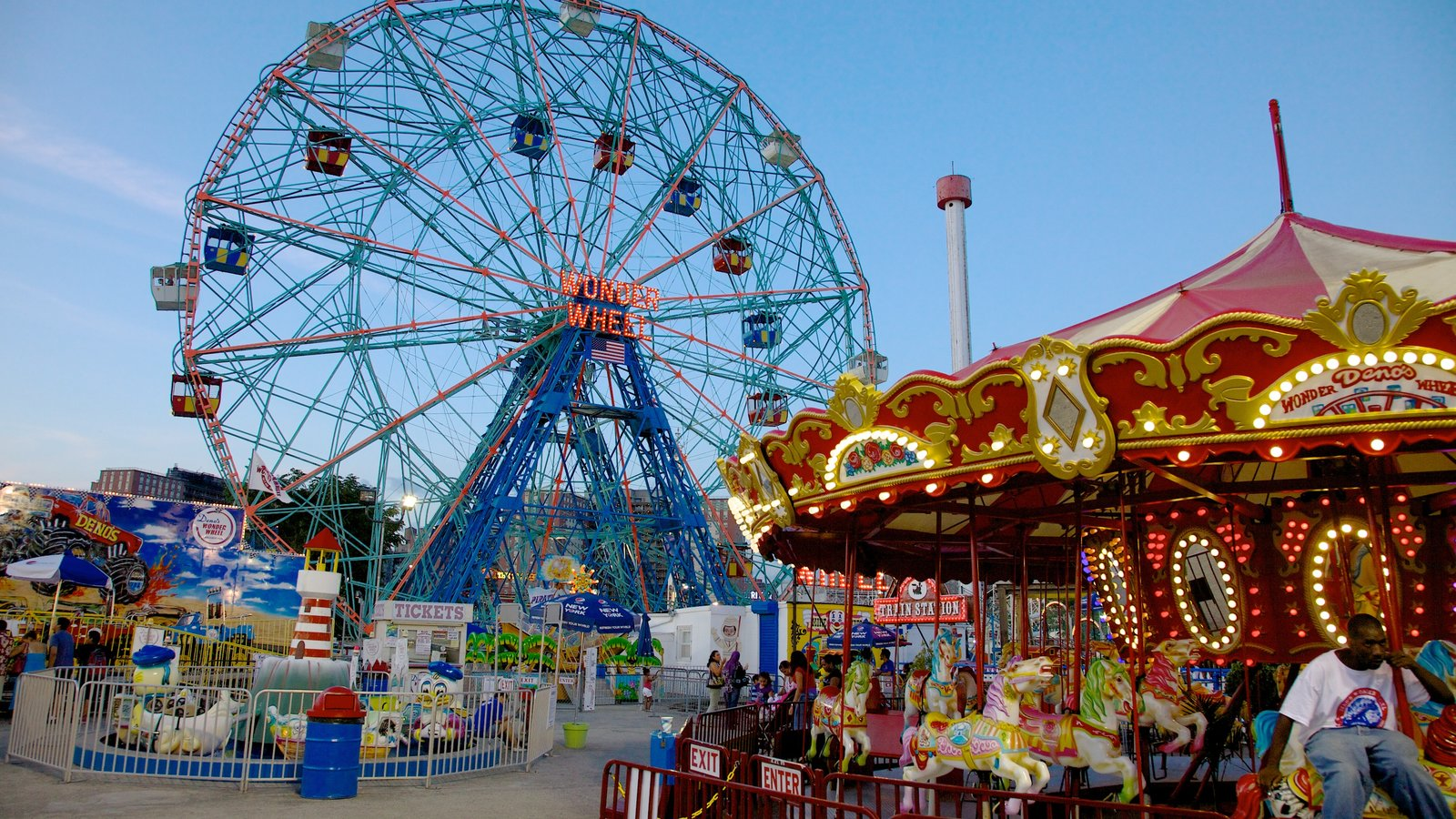 Coney Island que inclui passeios