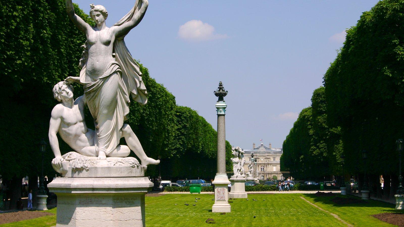 Fotos de jardines de luxemburgo ver fotos e im genes de for Estatuas jardin
