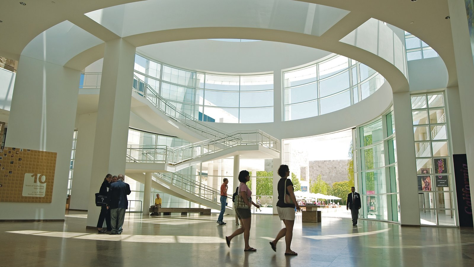 Getty center interior images for Los angeles interior