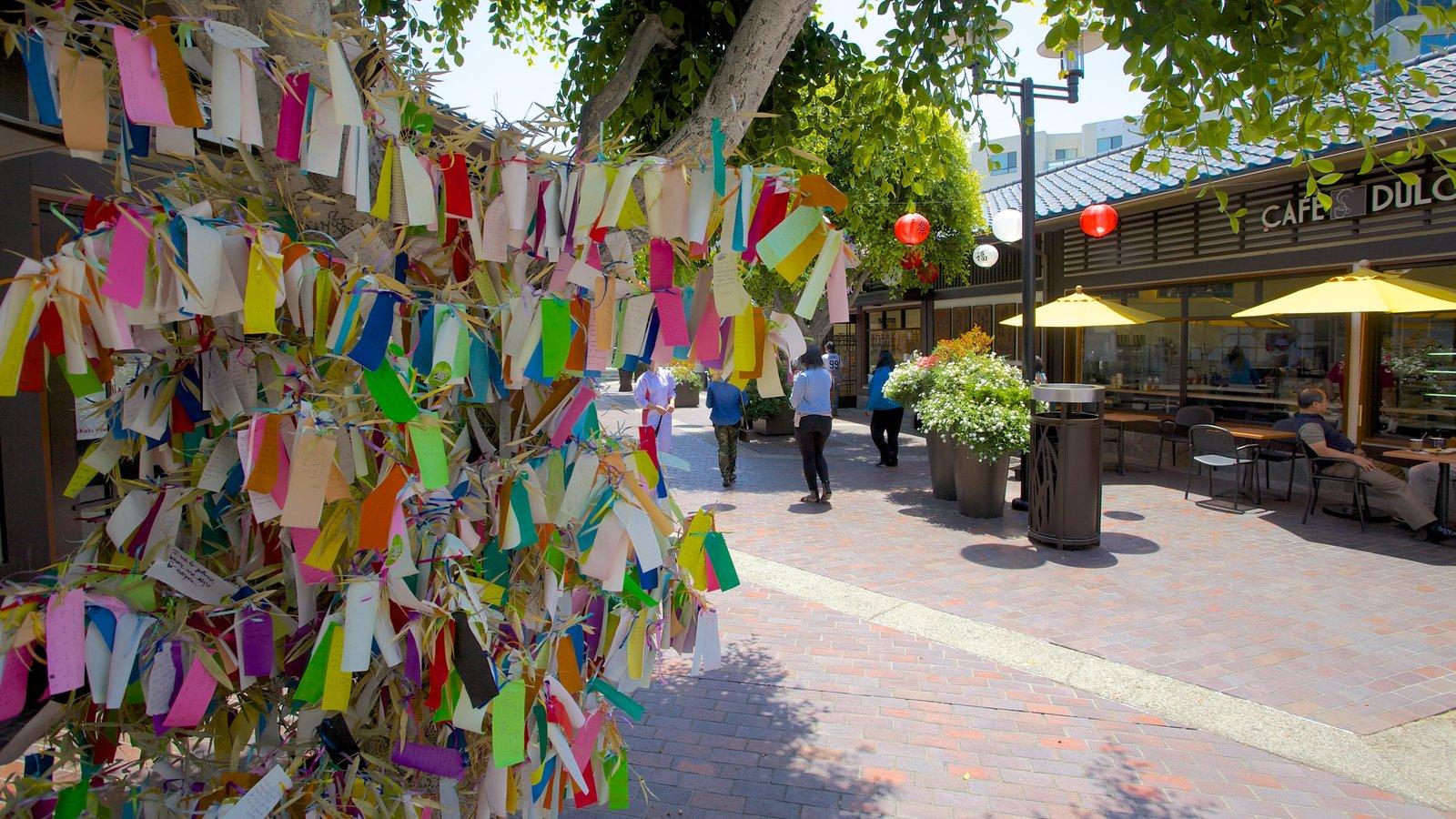 Centro de Los Ángeles ofreciendo una ciudad y escenas urbanas