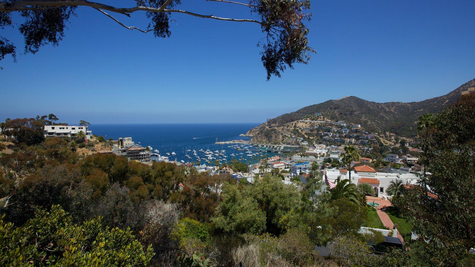 Los Angeles showing general coastal views, a bay or harbor and landscape views